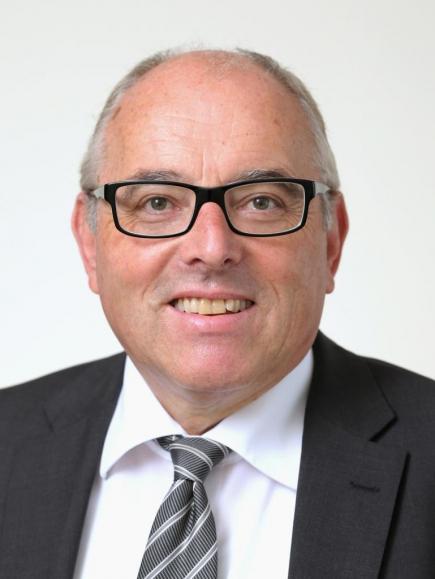 Landratspräsident Heinz Lerf